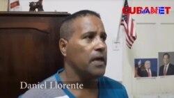 El cubano que enarboló la bandera estadounidense en desfile castrista