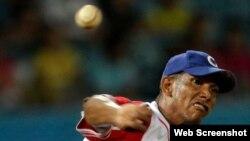 El lanzador cubano Yoelkis Cruz.