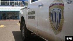 Policía científica (CICPC) de Venezuela