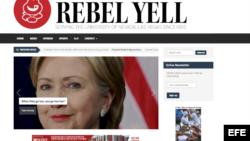 El anuncio a la derecha, publicado como banner en la edición digital.