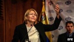 Luisa Ortega Díaz, fiscal general de Venezuela.