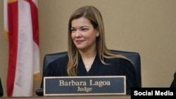 La jueza Barbara Lagoa. Tomado de @FLPolicyInsider.