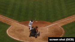 Yoenis Céspedes dispara un grand slam en su primer partido de spring training con Detroit.