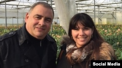 Los cubanos Erasmo lazcano y su esposa Lisbete Lastre, que fueran hallados muertos en la localidad de Costa Esuri, Ayamonte, Huelva, españa. (FACEBOOK).