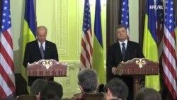 El vicepresidente de EEUU Joe Biden visita Ucrania
