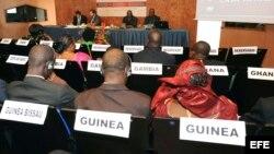Representantes de quince países de la Comunidad Económica de los Estados del África Occidental (CEDEAO) participan en un taller de cooperación en fortalecimiento institucional en asuntos criminales relacionados con el terrorismo. Fotografía de archivo.