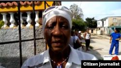 Reporta Cuba. Gladys Capote, Dama de Blanco.