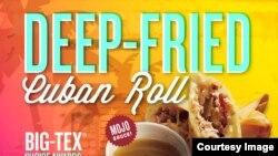 Deep Fried Cuban Roll