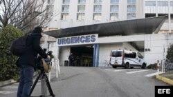 "Centre Hospitalier Universitaire"" en Grenoble (Francia), donde es atendido Michael Schumacher."
