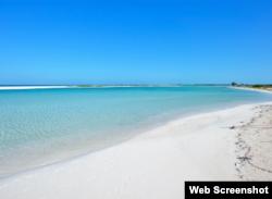Playa Paraiso, Cayo Largo.