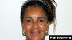 Xiomara de las Mercedes Cruz Miranda, presa política, Dama de Blanco. (TWITTER).