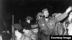 Fidel Castro entrando en La Habana en 1959.