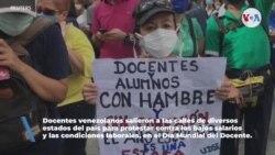 Maestros venezolanos se enfrentan al Covid-19