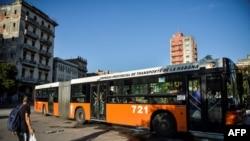 Omnibus en La Habana.