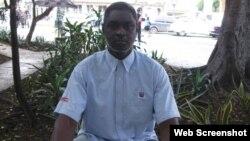 El prisionero de conciencia cubano Silverio Portal Contreras. (Foto: Cuba Nuestra)