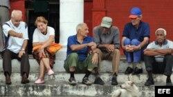 En una bodega de La Habana (Cuba).