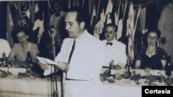 Mariano Esteva Lora en los años treinta.