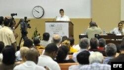 Vista general de la inauguración de la versión 50 del Congreso de la Asociación de Técnicos Azucareros de Cuba (ATAC) hoy, miércoles 5 de septiembre del 2012, en La Habana (Cuba). EFE/Stringer