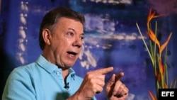 En entrevista con la agencia Efe, el presidente colombiano, Juan Manuel Santos, auguró que la paz con las FARC se firmará antes de fin de año.