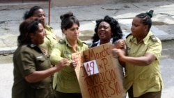 Damas de Blanco detenidas en La Habana