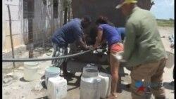 El agua escasa y contaminada enferma a pobladores del oriente cubano