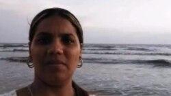 Yanisleidys Hernández Miranda explica cómo demolieron su vivienda en Pinar del Río