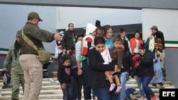 Autoridades interceptan a inmigrantes centroamericanos ilegales en Tamaulipas