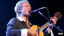 El cantante británico Sting quiere actuar en Cuba. EFE