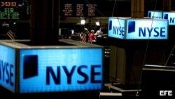 Archivo - En el NYSE, Wall Street.