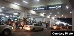 Aeropuerto Internacional Cheddi Jagan, de Guyana, donde operan los vuelos de Aruba Airlines (Foto cortesía Oscander Rodríguez/Agencia Toma 1, Guyana).