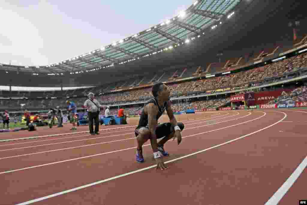 El corredor cubano de 110 metros con vallas, Orlando Ortega, representa a España en los Juegos Olímpicos de Río de Janeiro.
