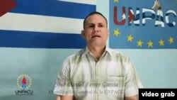 José Daniel Ferrer, coordinador nacional de la UNPACU.