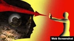 Imagen de Campaña contra los Robots Asesinos. © 2020 Brian Stauffer para Human Rights Watch