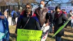 Patria y Vida, un reclamo de cientos de cubanos en Washington DC