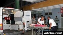 Accidente en Cienfuegos