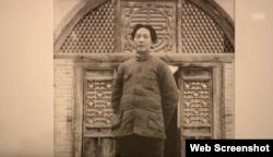 El joven Mao Zedong fotografiado por Walter Booshard