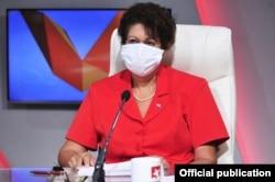 La ministra de Educación de Cuba, Ena Elsa Velázquez (Foto: Cubadebate).