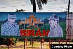 Camino a Birán, Cuba.