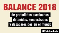 Reporteros Sin Fronteras, Informe 2018.