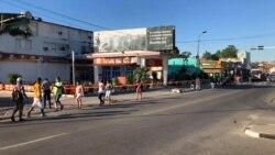 COVID-19 deja a los santiagueros sin poder acceder a un céntrico sector de la ciudad