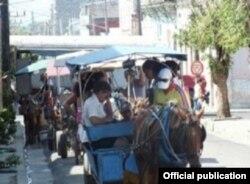 Protesta de cocheros en Cienfuegos