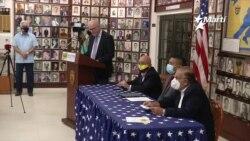 Hispanos del sur de la Florida envían firme mensaje al presidente Joe Biden