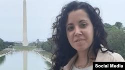 La periodista independiente Camila Acosta. (Facebook)