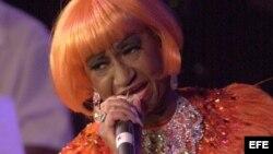 Recuerdan en Nueva York a Celia Cruz
