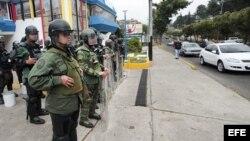 Presencia militar en Táchira, estado fronterizo de Colombia