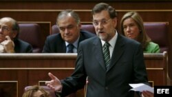 Parlamento español con mayoría del PP.