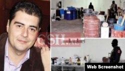 Ermal Hoxha y los otros acusados fueron arrestados en enero de 2015, cuando una operación policial condujo a la incautación de 120 kilos de cocaína y al descubrimiento de un laboratorio en dónde la droga era tratada en la localidad de Xibraka.