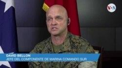 Declaraciones de David Bellon, jefe del Componente de Marina de Comando Sur