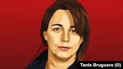 Tania Bruguera, artista cubana reconocida a nivel nacional e internacional.