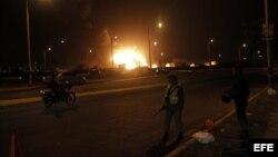 Explosión refineria Venezuela